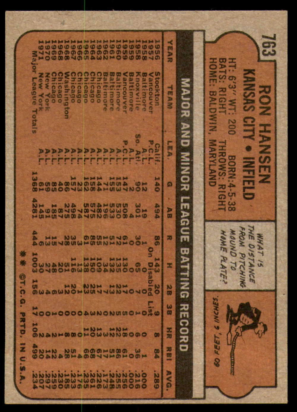 1972-Topps-Baseball-Set-497-787-Pick-Your-Card-Each-Card-Scanned-Front-amp-Back thumbnail 341
