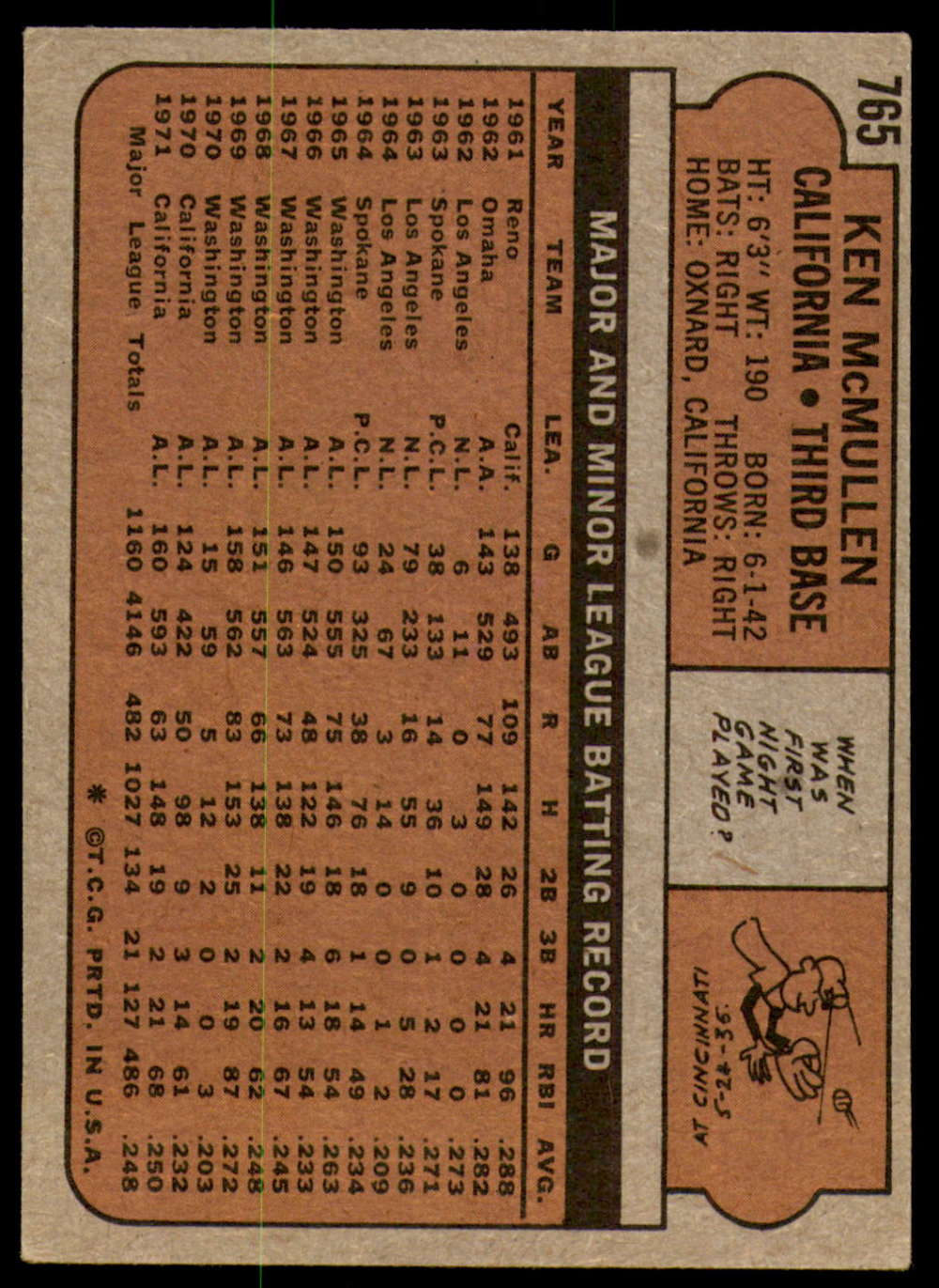 1972-Topps-Baseball-Set-497-787-Pick-Your-Card-Each-Card-Scanned-Front-amp-Back thumbnail 343