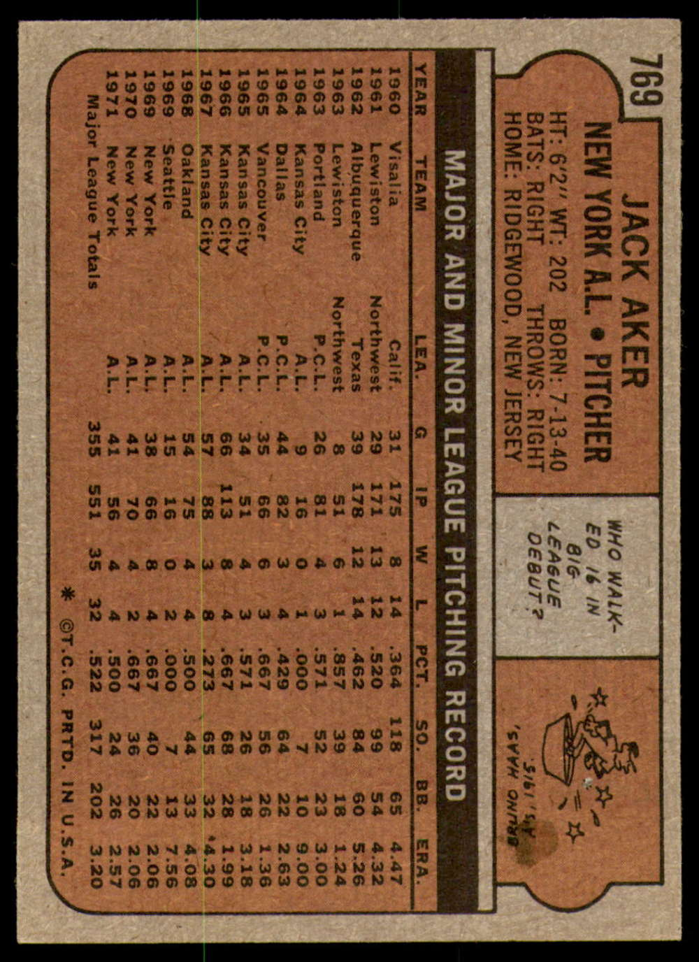 1972-Topps-Baseball-Set-497-787-Pick-Your-Card-Each-Card-Scanned-Front-amp-Back thumbnail 345