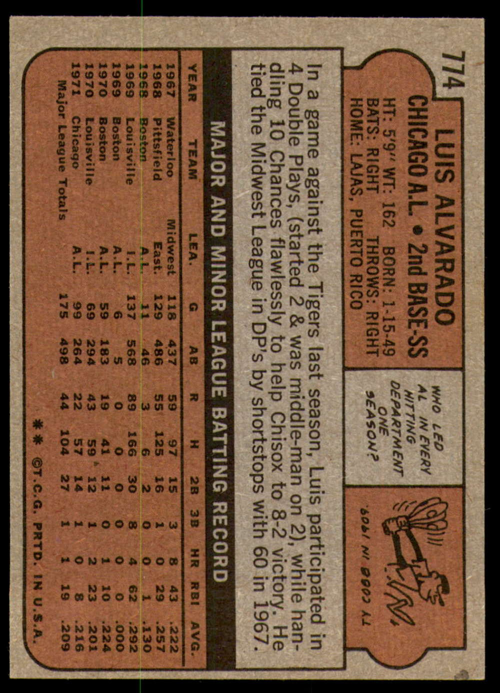 1972-Topps-Baseball-Set-497-787-Pick-Your-Card-Each-Card-Scanned-Front-amp-Back thumbnail 349