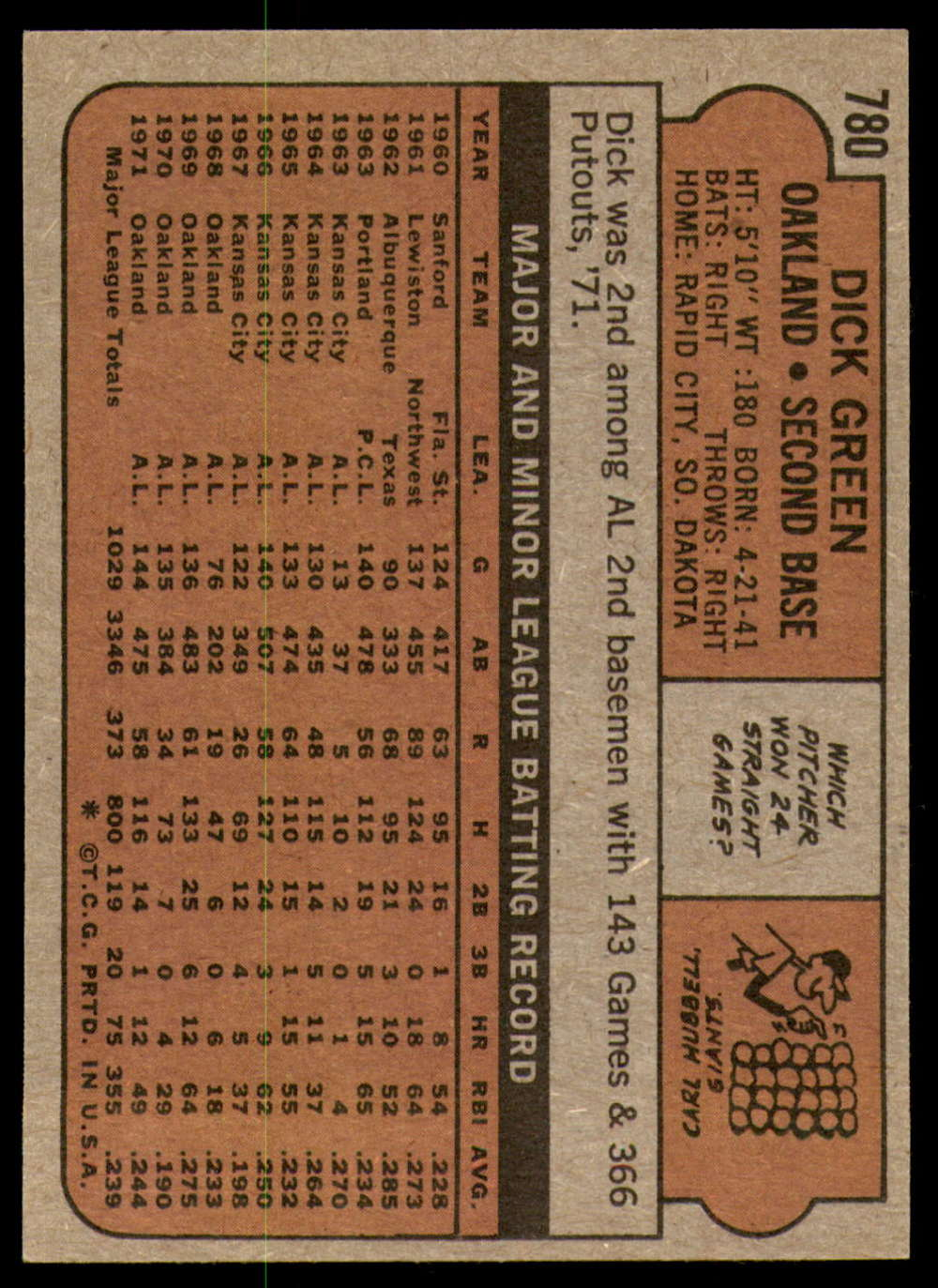 1972-Topps-Baseball-Set-497-787-Pick-Your-Card-Each-Card-Scanned-Front-amp-Back thumbnail 353