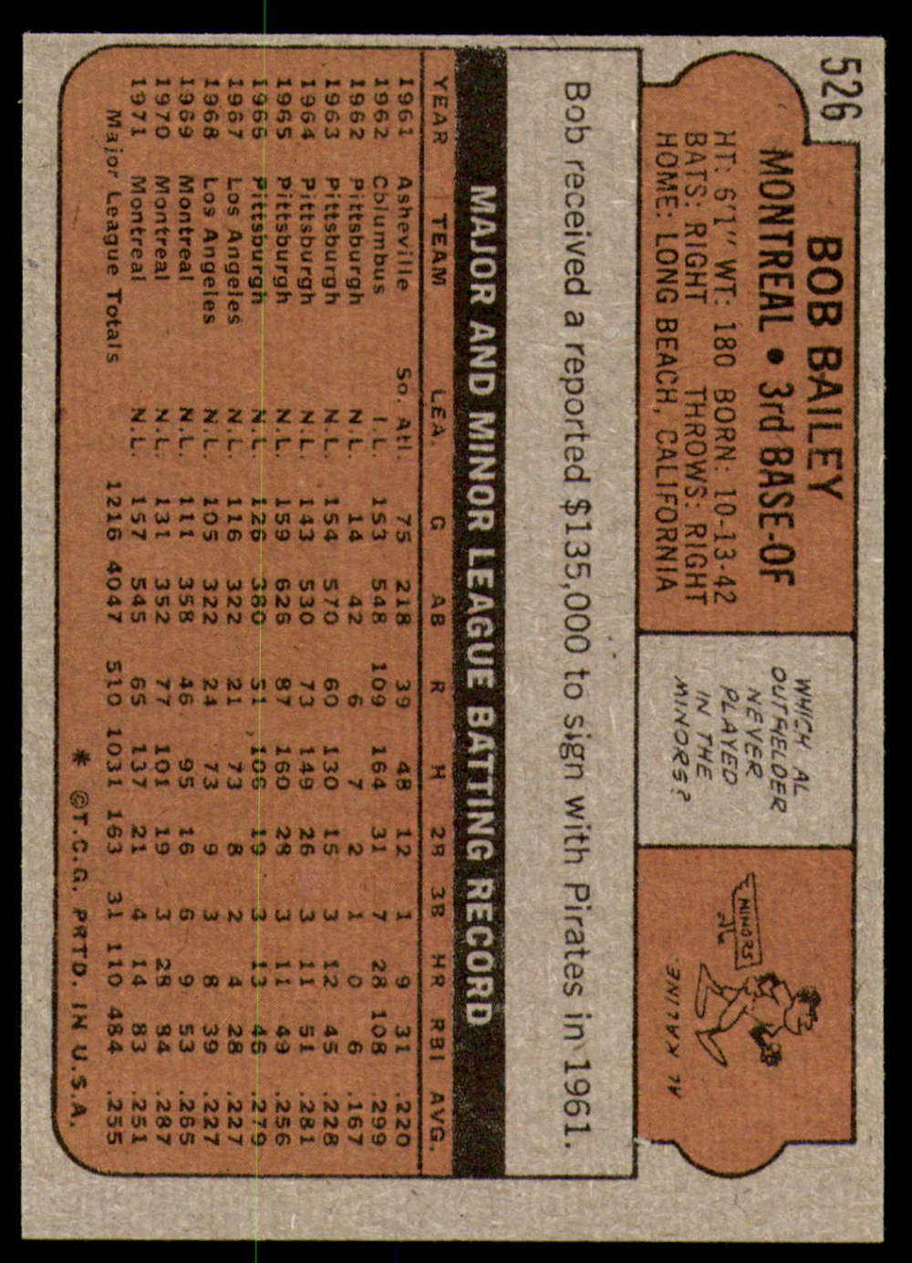 1972-Topps-Baseball-Set-497-787-Pick-Your-Card-Each-Card-Scanned-Front-amp-Back thumbnail 19