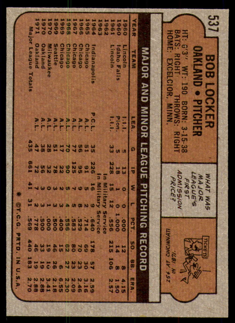 1972-Topps-Baseball-Set-497-787-Pick-Your-Card-Each-Card-Scanned-Front-amp-Back thumbnail 47