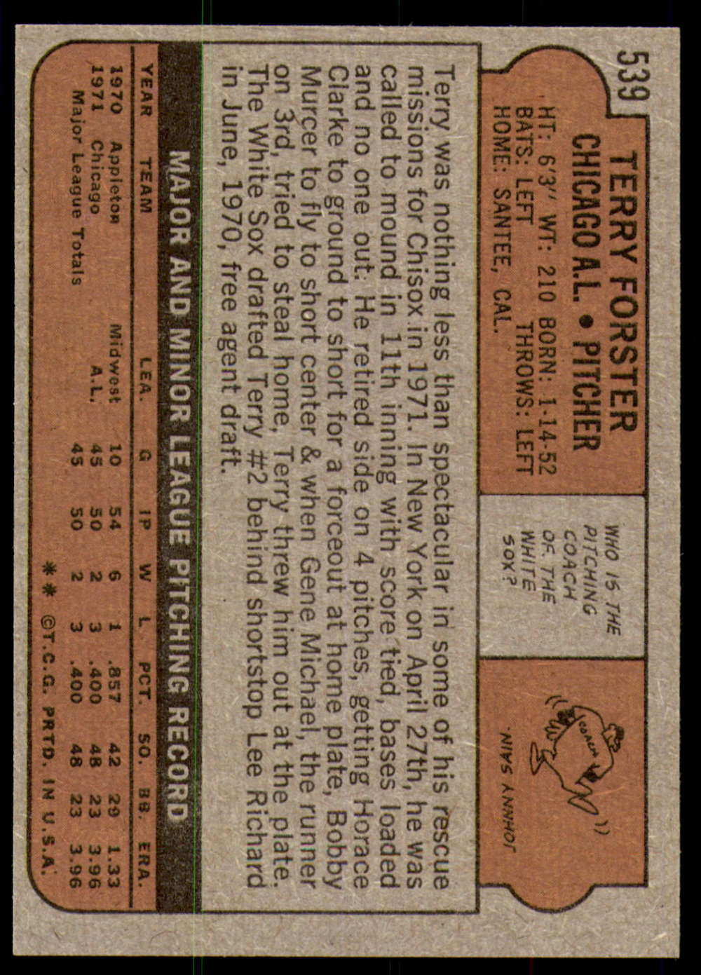 1972-Topps-Baseball-Set-497-787-Pick-Your-Card-Each-Card-Scanned-Front-amp-Back thumbnail 53
