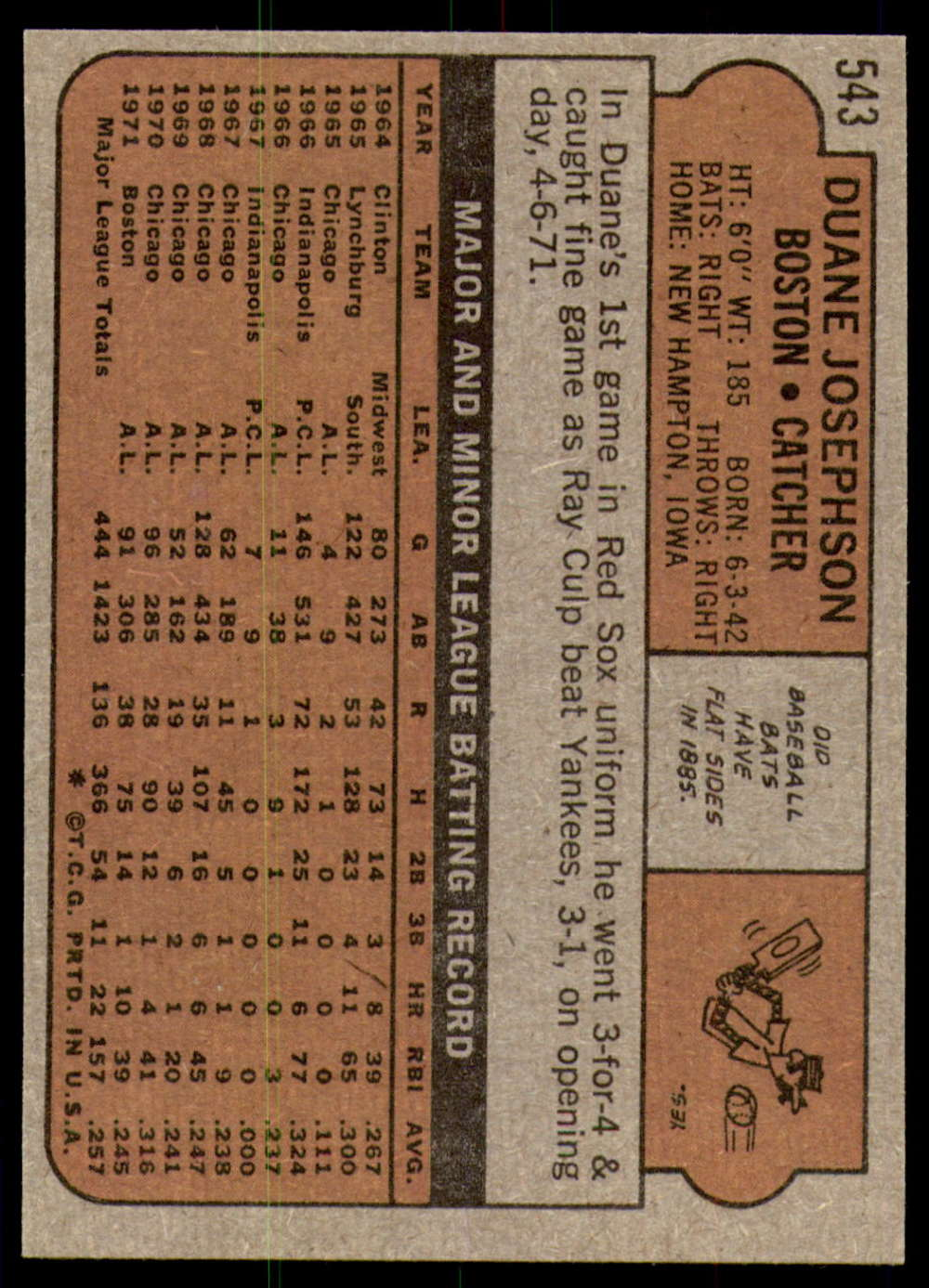 1972-Topps-Baseball-Set-497-787-Pick-Your-Card-Each-Card-Scanned-Front-amp-Back thumbnail 69