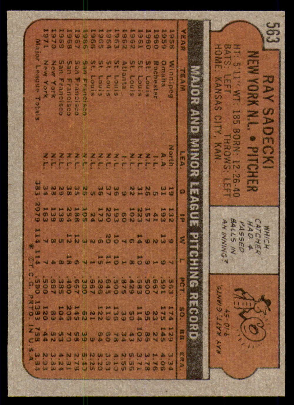 1972-Topps-Baseball-Set-497-787-Pick-Your-Card-Each-Card-Scanned-Front-amp-Back thumbnail 123
