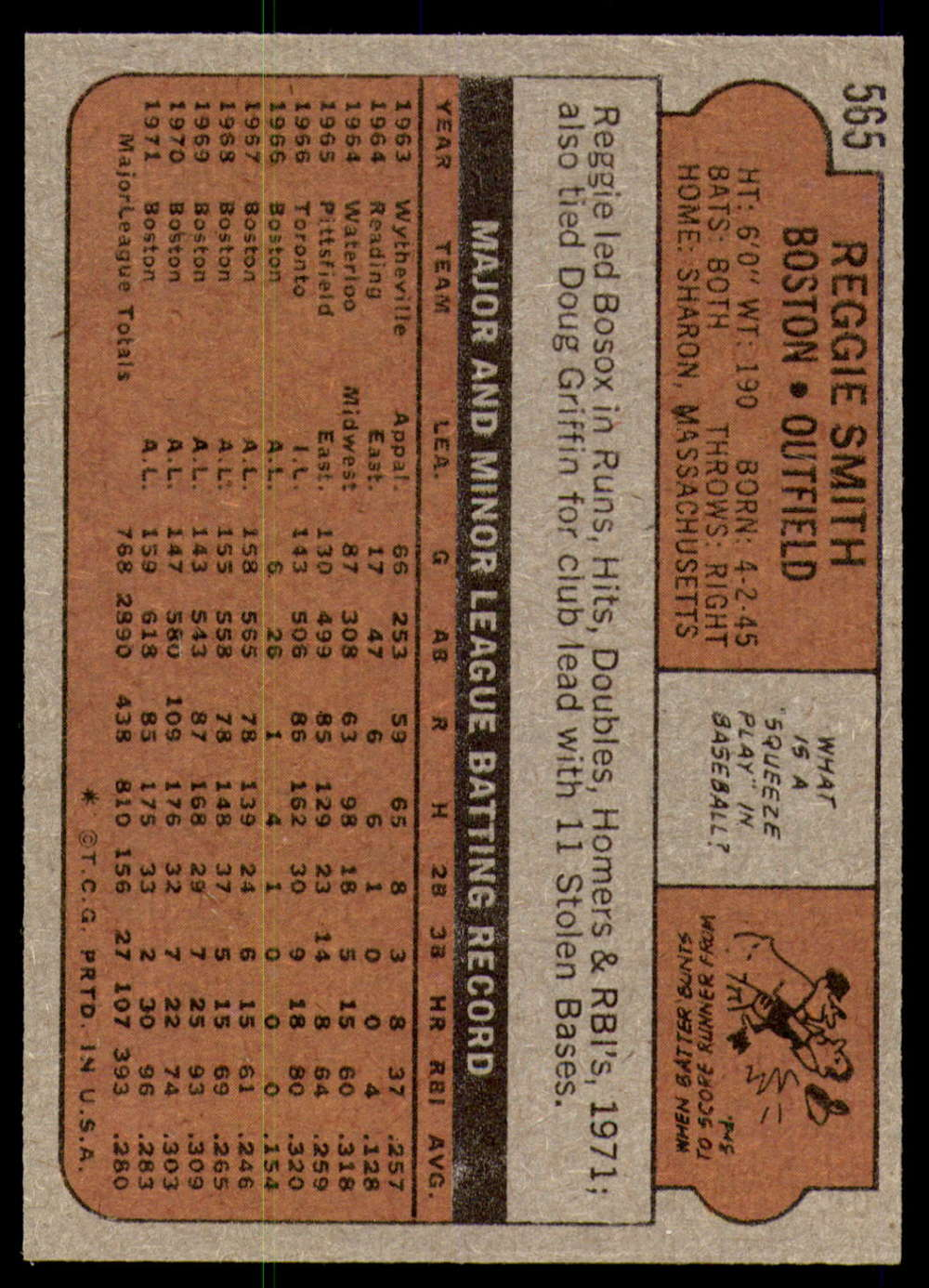 1972-Topps-Baseball-Set-497-787-Pick-Your-Card-Each-Card-Scanned-Front-amp-Back thumbnail 131